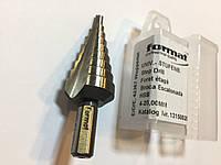 Ступенчатое сверло по металлу 4-20 мм FORMAT (Германия)
