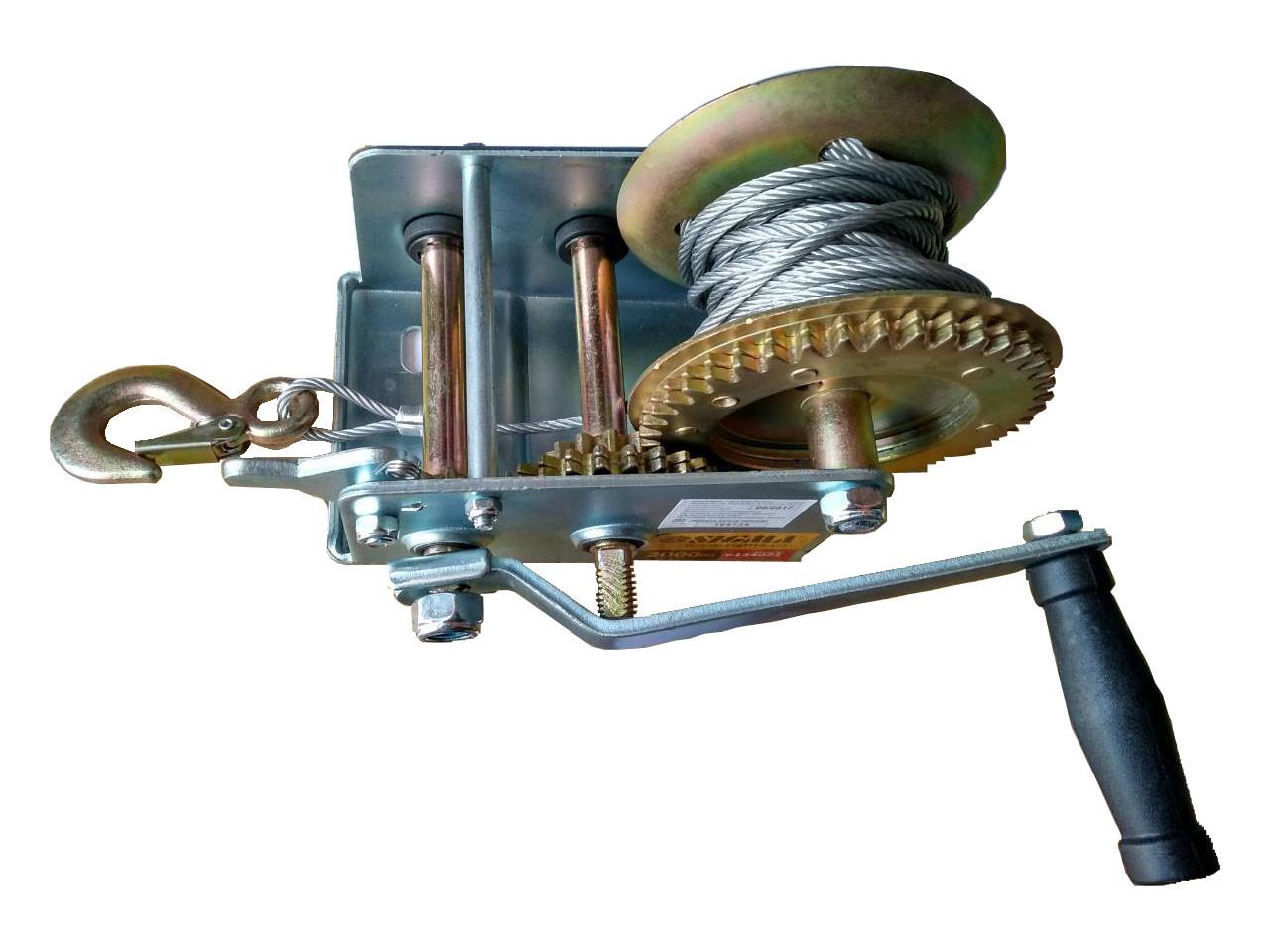 Лебедка ручная тросовая 2000lbs Sigma