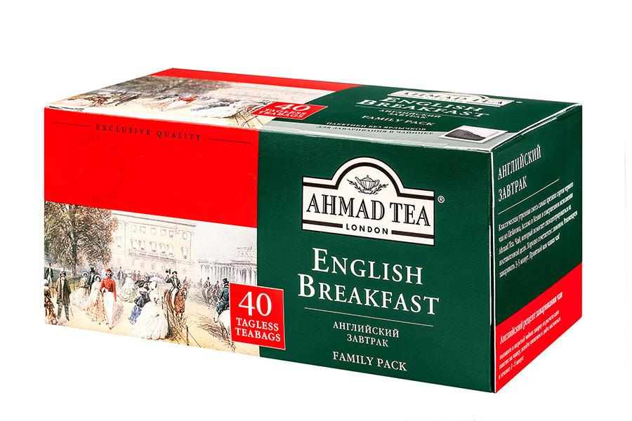 Ahmad tea  ''Английский к завтраку''  40шт
