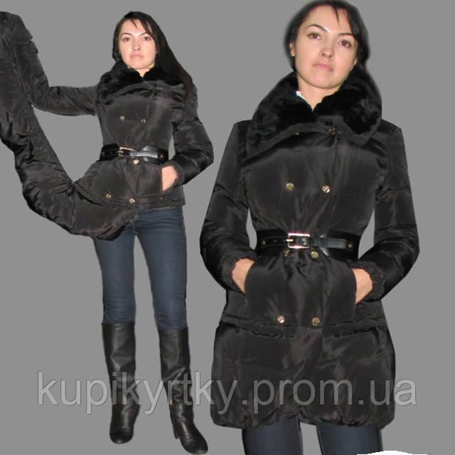 """Пальто-пуховик-трансформер""""ELISABETTA FRANCHI"""", фото 1"""