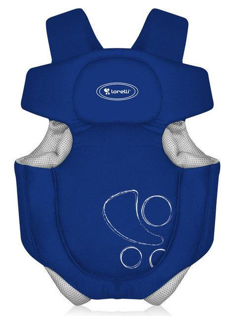 рюкзак-кенгуру для ребенка синий