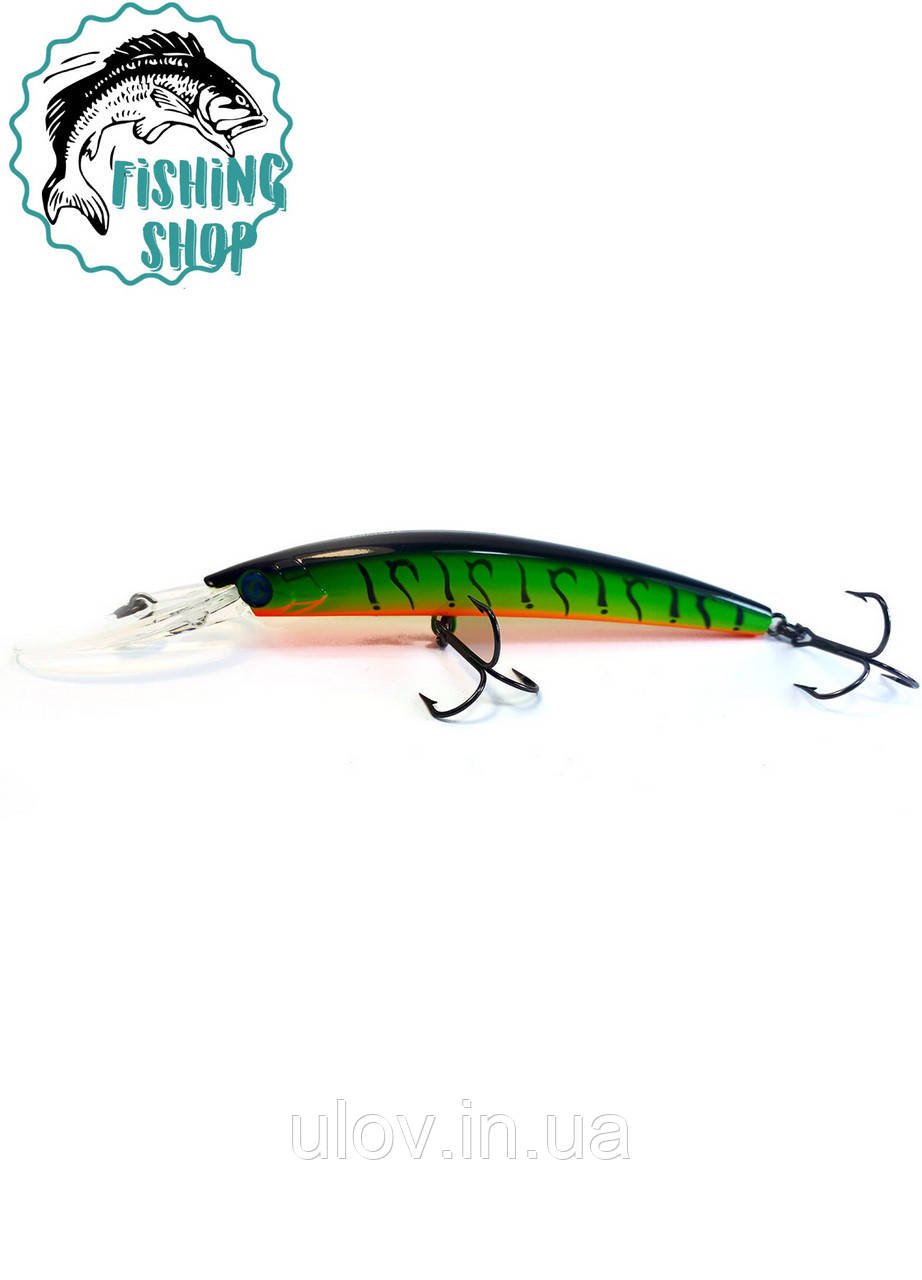 "Воблер German ""GG Long 130mm/27g/7m/С205 (КОПИЯ YO-ZURI CRYSTAL MINNOW DD 2)"