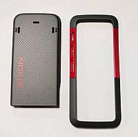 Оригинальная передняя панель и Задняя крышка для Nokia 5310 Xpress Music, Красный /панель/крышка/накладка /нокиа