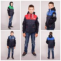 Модная демисезонная куртка жилет 2 в 1 для подростка, фото 1
