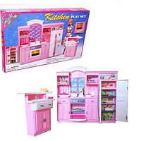Детская мебель Gloria 24016 для кукол Глория большая модная кухня Барби