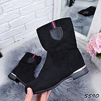 Ботинки женские Olla черные , женская обувь