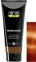 Фарбувальна відтіняюча гель-маска для волосся — NUTRE COLOR MASK Nirvel мідний