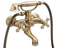 Смеситель для ванны Genebre New Regent Classic, бронза 68526 09 43 66
