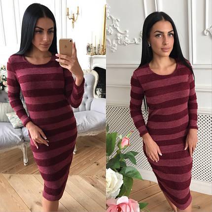 Зимнее теплое платье из ангоры, фото 2