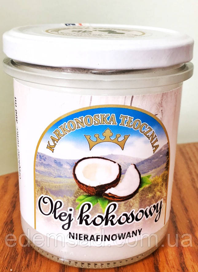 Кокосовое масло нерафинированное, 300мл