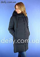 Куртка пуховик пальто женское Towmy 3951 (S-2XL) Пуховики куртки Towmy, Hailuozi, Peercat, Meajiateer, Visdeer