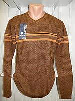 Копия Свитер мужской COLORBAR, полу-батал, узор на фото 006/ купить свитер мужской оптом