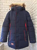 Куртка зимняя на юниора, возраст 10-11 лет. Рост ~146-152