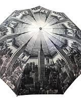 Зонт складной Небоскребы атлас женский арт.457 Max Komfort