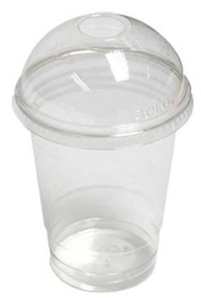 Коктельный комплект (стакан+крышка) 300мл 50шт, фото 2
