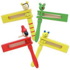 Трещетка, деревянная игрушка