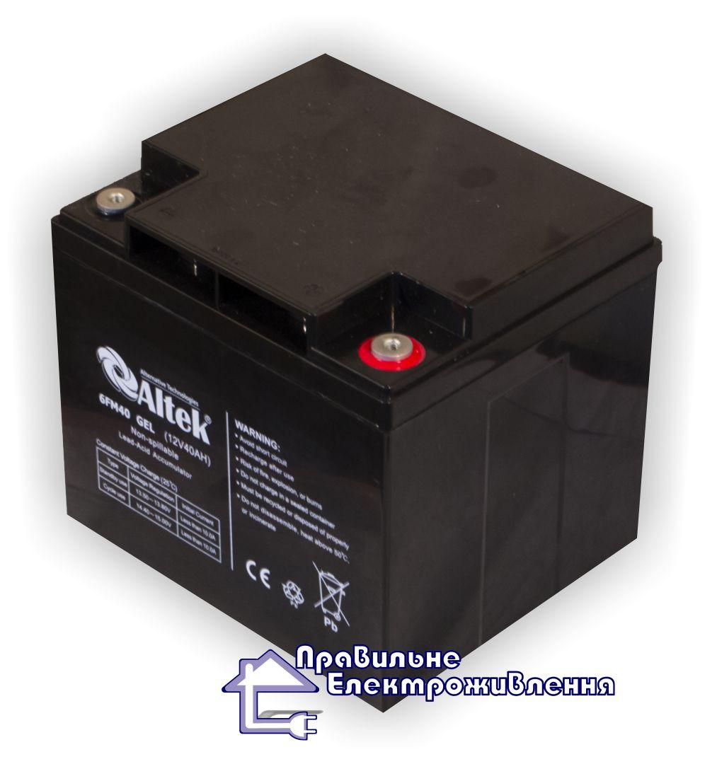 Акумуляторна батарея 6FM40 40 Агод