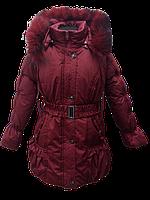 Распродажа зимняе пальто-куртка для девочки 6-15 лет