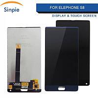 LCD дисплей + сенсор для Elephone S8 Модуль, фото 1
