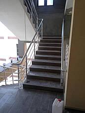 Перила алюминиевые на базы отдыха, фото 3