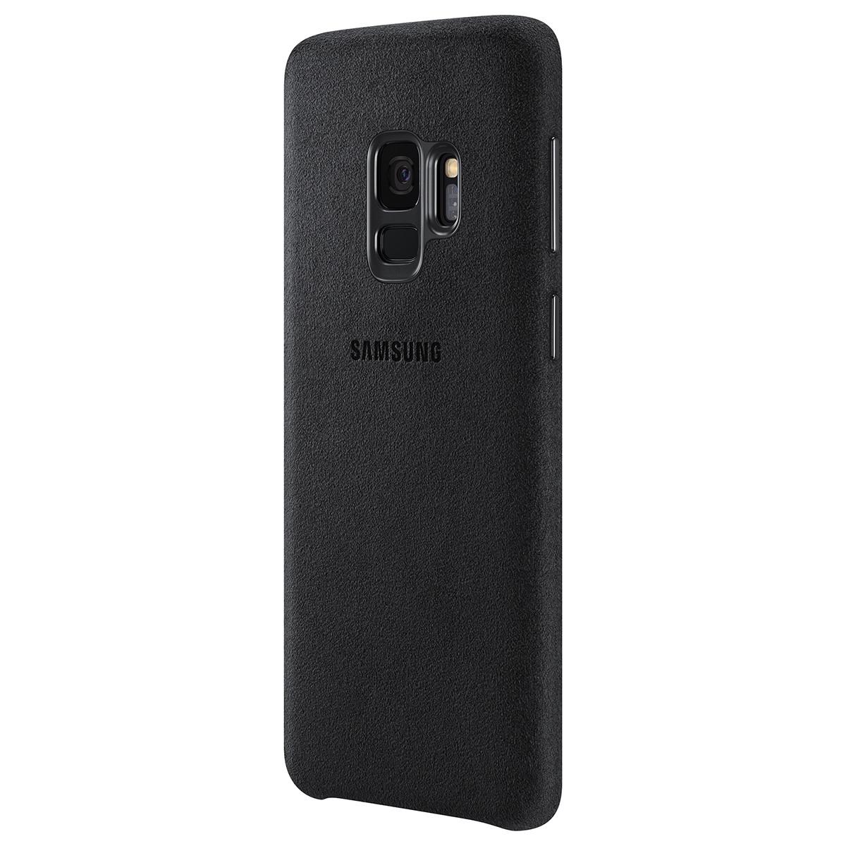 Чехол-накладка Alcantara Cover для Samsung Galaxy S9 SM-G960 Black (EF-XG960ABEGRU)