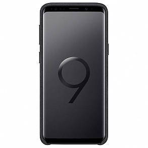 Чехол-накладка Alcantara Cover для Samsung Galaxy S9 SM-G960 Black (EF-XG960ABEGRU), фото 2