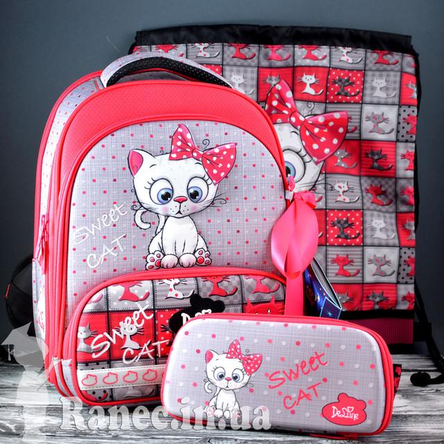 Школьный набор DeLune (рюкзак + сменка+пенал+брелок) 9-121