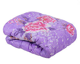 Зимнее шерстяное одеяло овчина евро размер, фото 3