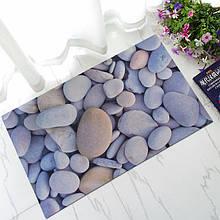 Коврик универсальный прорезиненный мягкий «Речная галька» 45×75 см