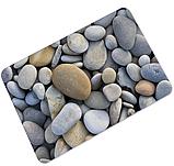 Коврик универсальный прорезиненный мягкий «Речная галька» 45×75 см, фото 2