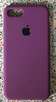 Силиконовый чехол Apple Silicone Case IPHONE 7/8 (Ultra Violet), фото 1