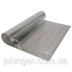 Шпатель кондитерський металевий, великий 15 см