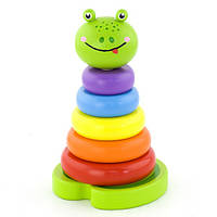 "Пирамидка Viga Toys ""Лягушка"" (50258)"