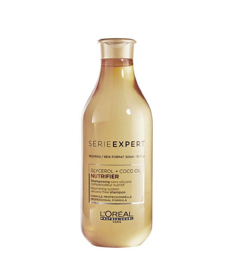 Шампунь для сухих и ломких волос 300 мл L'Oreal Professionnel Nutrifier без силикона