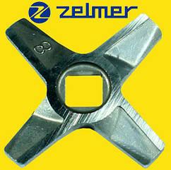 Нож для мясорубки Zelmer 8 Двухсторонний (ОРИГИНАЛ)