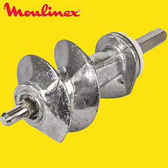 ➜ Шнек для мясорубки Moulinex XF911101 (SS-989843) (с уплотнительным кольцом) L=114