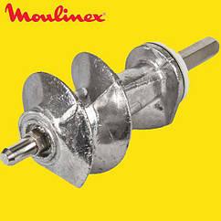 Шнек для мясорубки Moulinex XF911101 (SS-989843) (с уплотнительным кольцом) L=114