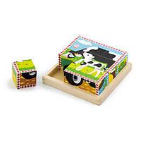 "Пазл-кубики Viga Toys ""Ферма"" (59789)"