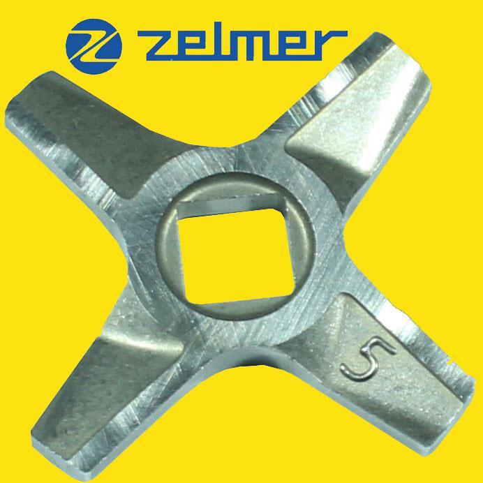 Двухсторонний нож для мясорубки Zelmer NR5 (ОРИГИНАЛ) 86.1009 631384