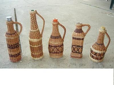Бутылки сувенирные и бутли