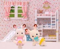 Шоколадные кролики-двойняшки, Sylvanian Families