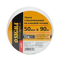 Лента стеклотканевая на клеевой основе 50ммх90м Sigma (8402691)