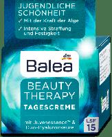 Balea крем для лица с двойным концентратом гиалуронки фактор защиты UV15 50мл