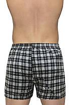 """Мужские шорты(семейные c ширинка на пуговице) клетка  Марка """"DOOMILAI""""  Арт.D-18003, фото 2"""