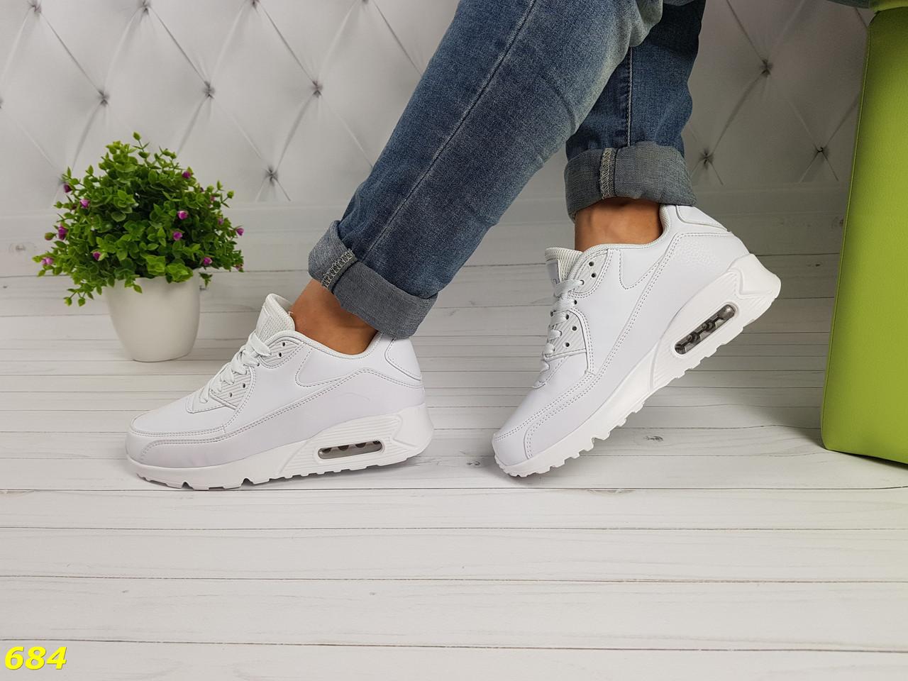5d1882f11c4d Женские кроссовки аирмаксы белые - Интернет - магазин модной обуви и одежды