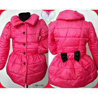 Курточка-плащ деми на девочку. Рост 116-128 см. Синтепон 200-ка
