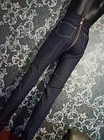 """Женские брюки- легинсы """"Джинсовые,сзади змейка"""""""