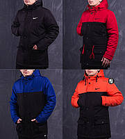 Мужская осенняя куртка/парка в стиле Nike 4 цвета в наличии