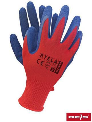 Рабочие перчатки покрытые латексом RTELA CN, фото 2
