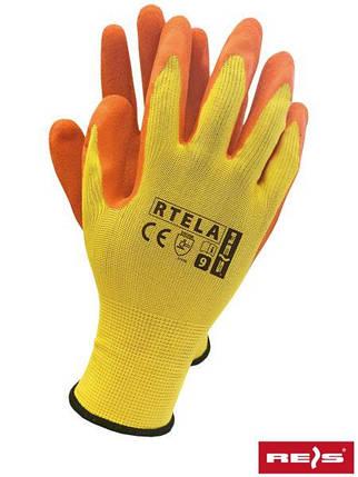 Рабочие перчатки покрытые латексом RTELA YP, фото 2